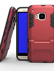 Для Кейс для HTC Защита от удара / со стендом Кейс для Задняя крышка Кейс для Армированный Твердый PC HTC HTC One M9