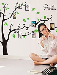 Wall Stickers Wall Decals Style Black Tree Photos PVC Wall Stickers