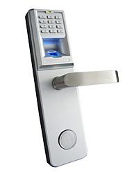 biométrico de impressão digital e senha fechadura da porta com tranca os9001