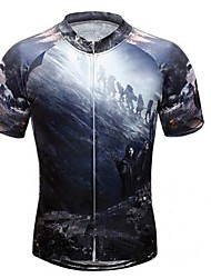 Lord of Ring Tight Fast Drying Cycling T-Shirt Male