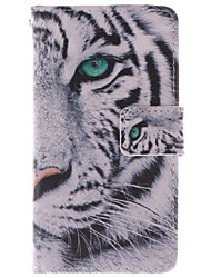 For Nokia Case Wallet / Card Holder / with Stand Case Full Body Case Animal Hard PU Leather Nokia Nokia Lumia 630