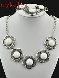 Toonykelly® Alloy/Gem Jewelry Set Wedding/Party/Daily/Casual/Sports 1set