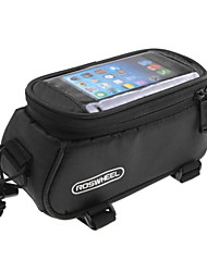 Marsupio triangolare da telaio bici / Bag Cell Phone Ciclismo Per iphone 4/8S / Iphone 5C / iPhone 5/5S (Multifunzione / Touch Screen ,