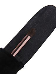 עין צללית lashining איכות גבוהה שיער עז מתנת מברשת מעושנת פלנלית אחד שחורה