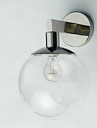 Contemporary and contracted glass wall lamp