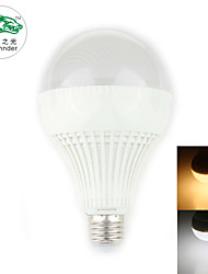 Zweihnder E27 9W 800LM 3000/6000K 30x2835 SMD Cool/Warm White Bulb Light (new products,AC 220-240V,1Pcs)