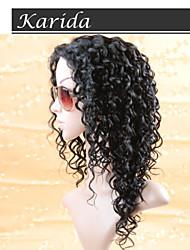 14-26 дюймов глубокая волна бразильский Реми полный парик шнурка человеческие волосы