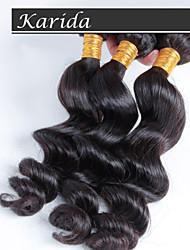 100% cabelo brasileiro virgem atacado não transformados, cabelo virgem onda solta brasileira