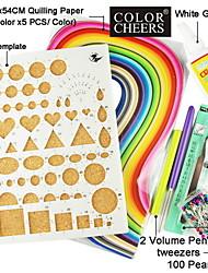 carta quilling mestiere diy kit arte decorazione / 7pcs set
