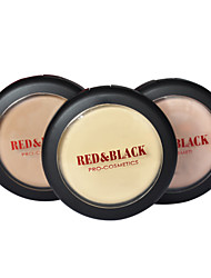 Red&Black Cream Foundation Flawless Fix Makeup Base Concealer Silky 16g