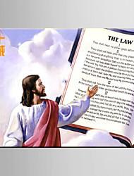 Ölgemälde jesus Dekoration Zusammenfassung Hand bemalte Leinwand mit gestreckten umrahmt S / M / L / XL