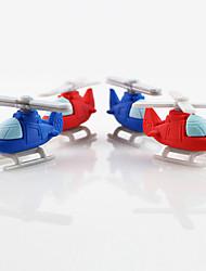 прекрасный вертолет съемный резиновый ластик (случайный цвет)