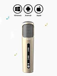 Aluminium-magnesium Alloy Mini Karaoke Microphone for Android/iPhone/PC