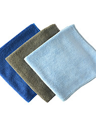 Sinland Multi-purpose Microfiber Car Cleaning Cloths Absorbent & Fast Drying Towels Assorted Color 3 Pack