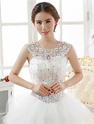 Wedding Wraps Capelets Lace/Polyester Elegant/Simple Bride Wraps White