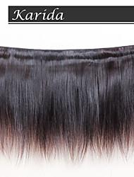 Capelli 100% non trattati umani vergini, alta capelli lisci brasiliano, nessun spargimento, nessun groviglio dei capelli