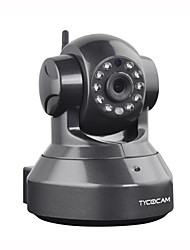 TYCOCAM TY-8103WE 1.0Mega Pixel Wireless IP PTZ Camera with SD Card Record MD with 2-way Audio Day/Night and MP Access