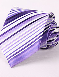 Purple Striped Ties