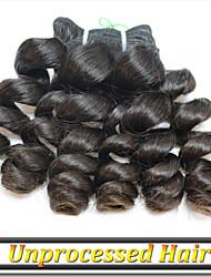 """3pcs / lot 12 """"-34"""" 100% non transformés remy cheveux humains russe vague de l'océan"""