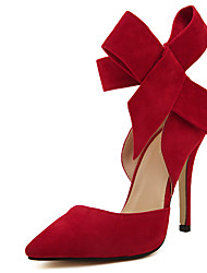 Stiletto - 10-12cm - Damenschuhe - Pumps/Heels Schwarz/Blau/Grün/Rosa/Rot )