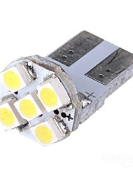 2 x T10 Xenon White 5-SMD 168 194 3528 LED Car License Plate Bulbs