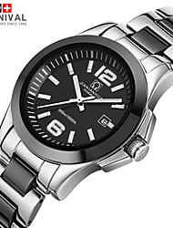 JIANIANHUA Watch Waterproof Fashion Lady Comcast Automatic Mechanical Watch 3 Pin Ceramic Watch Band Watch