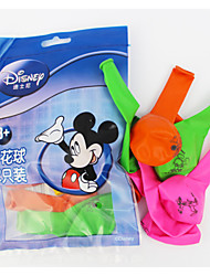 Disney Mickey Ballons 12pcs / sac
