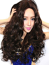 Fashion Wig New Sexy Women's Long Dark Brown Curly Natural Hair Wigs