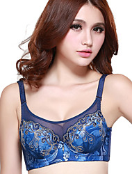 Women's Embroidered Underwear Thin Gather Collect New Adjustable Shaping Bra(More Colors)