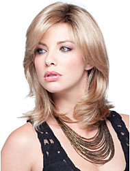 New Arrival  Beautiful  Blonde Syntheic  Wigs  Extensions Women Lady's Lovely