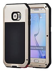 для Samsung Galaxy S6 алюминиевый корпус водонепроницаемый противоударный задняя крышка гориллы стеклянный ящик s5 s4 s3