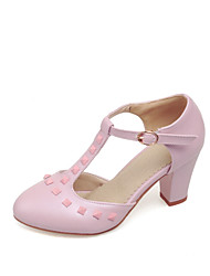 Women's Shoes Chunky Heel Round Toe Loafers Casual Shoes More Colors available