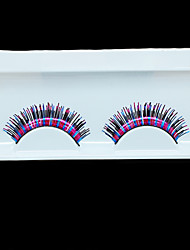 colorful false eyelashes individual eyelash extension for lady natural eyelashes