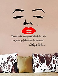 Hot Selling Marilyn Monroe Quotes Wall Stickers Zooyoo8002 Bedroom Vinyl Wall Decals Living Room  Diy Wall Art