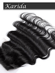 Top Grade Brazilian Body wave Closure Virgin Hair, Free Part Closure Brazilian Hair