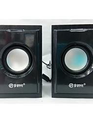AllSpark ® Hifi Adjustable Mini Multimedia Speaker System Woody Subwoofer