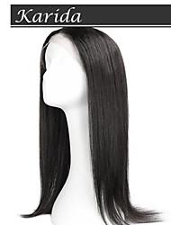 High Quality Virgin Human Hair Straight Wig, Karida Hair Full Lace Virgin Brazilian Human Hair Wig