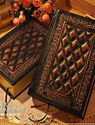 Vintage Style PU Leather Diary Book Hardcover Notebook