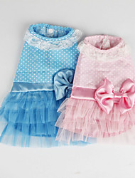 perro carretera camisa del partido del desgaste del vestido de perro mascota verano pawz diseño bonito de 2 colores ropa del perro