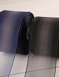 Laço de Cetim ( Preto/Azul , de Organza ) - Não-Personalizado