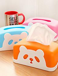 творческий прекрасный панда овец коробки ткани хранения
