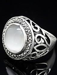 YOONHEEL Women's Vintage High Quality Rhinestone Ring