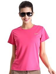 Extérieur Femme Hauts/Tops / T-shirt Camping & Randonnée / Pêche / Escalade / Fitness / Sport de détente / Plage / Cyclisme/Vélo / Course