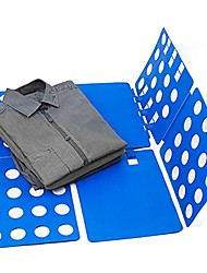 Adult Dress T Shirt Pants Clothes Folder Flip Board Blue