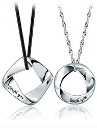 Mens 925 sterling silver necklace pendant (single, without necklace)
