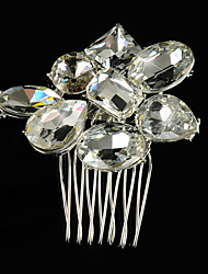 Vintage Wedding Party Bridal Bridesmal Diamond/rhinestones/crystal Handmake Crystal Hair Comb For Women Laides