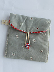 Green Multi-functional Cotton and Linen Retro Clip Package