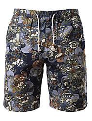 Strand/Informell MEN - Shorts ( Baumwolle/Leinen )