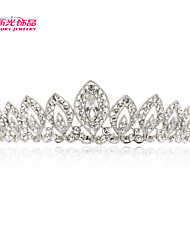 Neoglory Jewelry Bridal Tiara Crown Hair Accessories with Clear Austrian Rhinestone