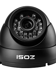 ZOSI® 800TVL IR Cut Waterproof Outdoor Day Night CCTV Seurity Dome Camera Surveillance